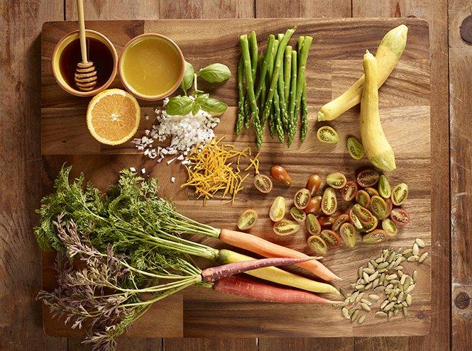 Здоровое питание против старения