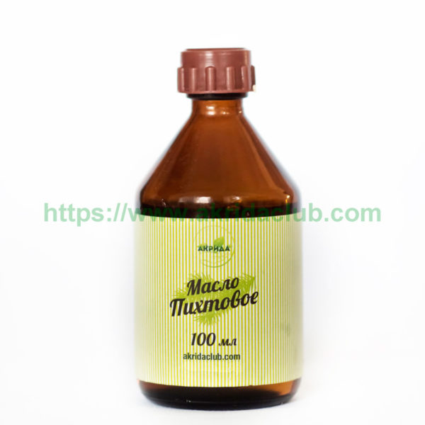 Пихтовое масло сибирское 1