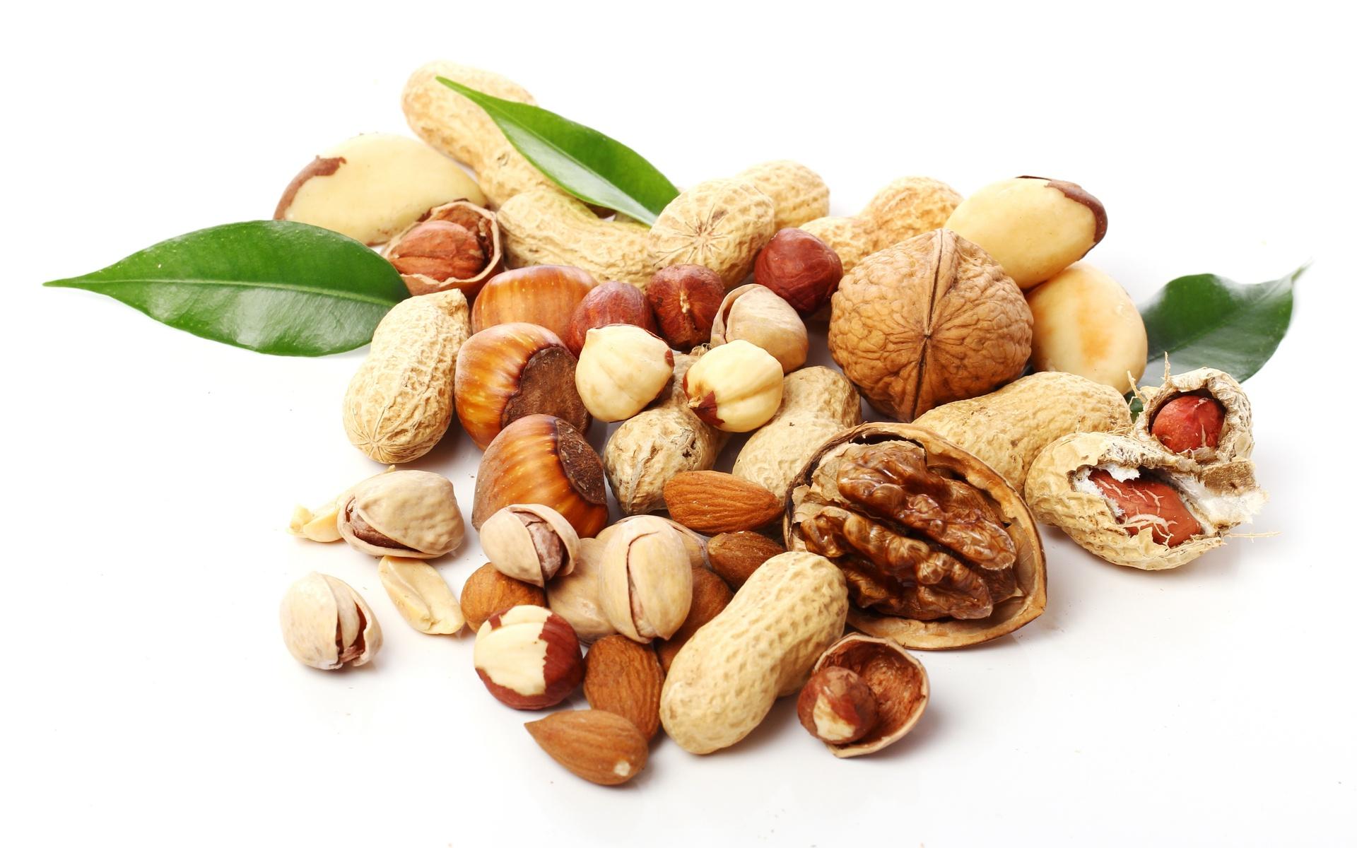 6 самых полезных орехов