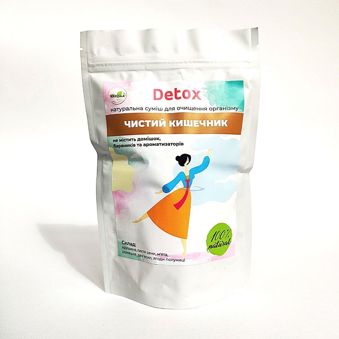 детокс чай для очищения кишечника
